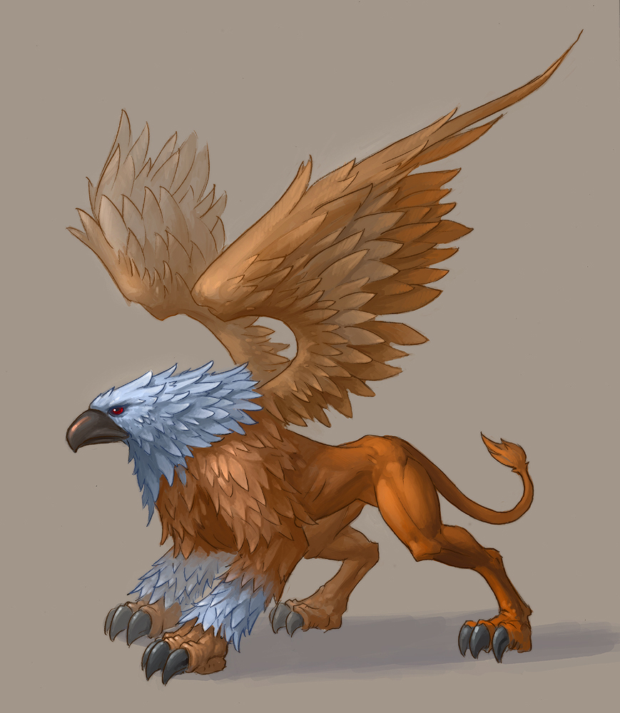 Real Gryphon The Griffin Was Based On A Creature Nicks